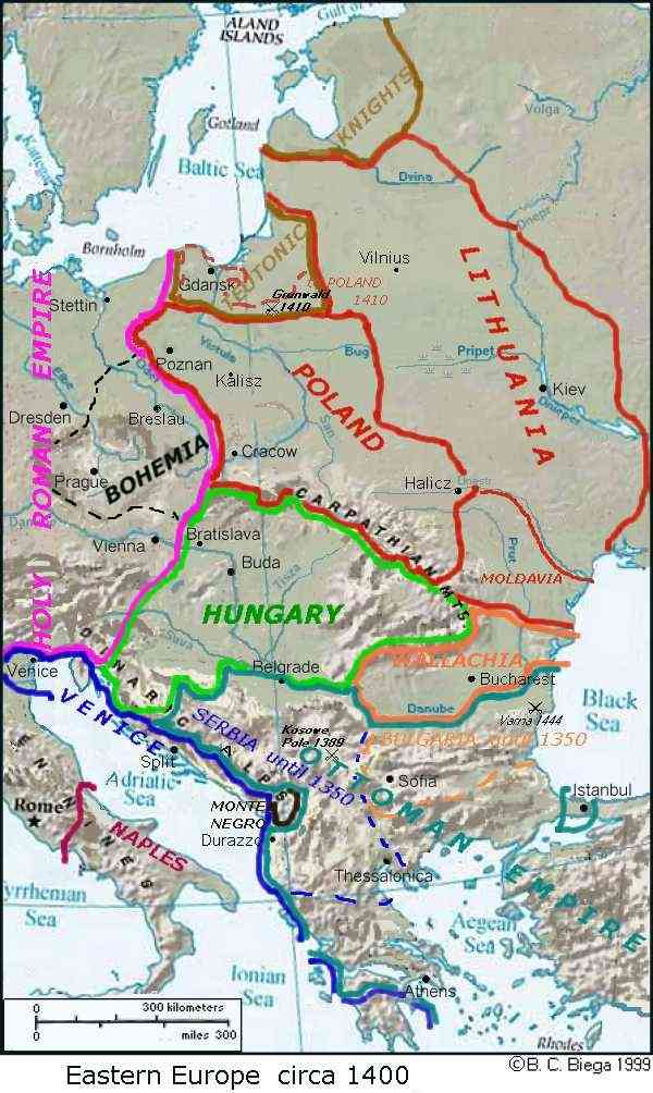 Maps Central Europe