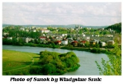 View of Sanok