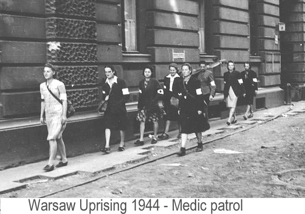 Image result for warsaw uprising during ww2